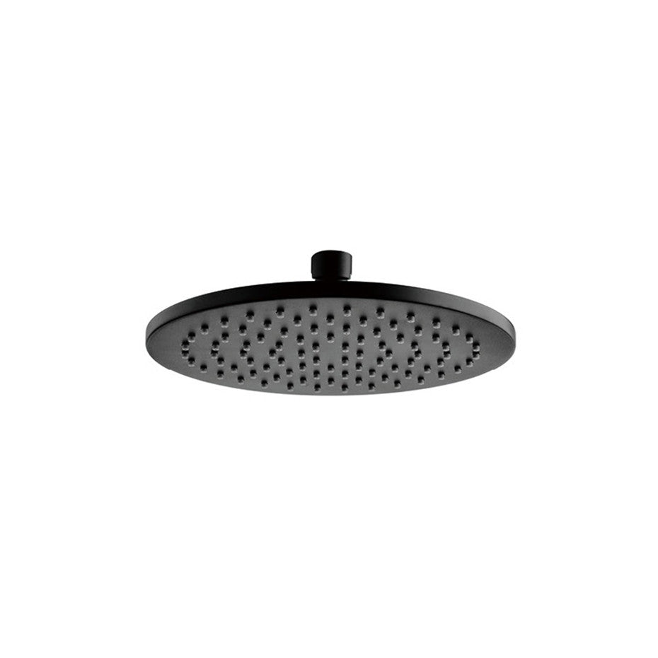 Rain Shower - Matte Black Round Shower Head 802