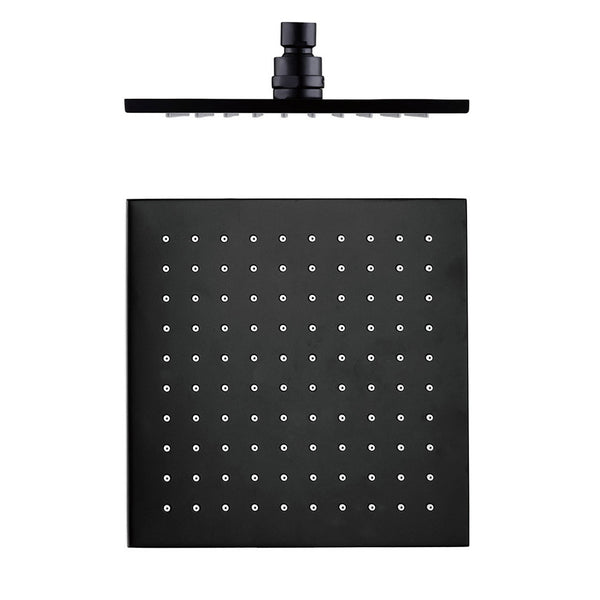 Rain Shower - Matte Black Square Shower Head 803
