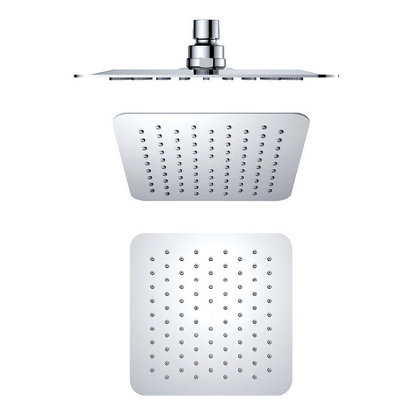 Air Injection Square Shower Head 250mm B1001