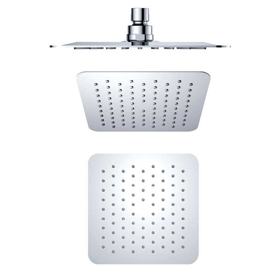 Air Injection Square Shower Head 200mm B801