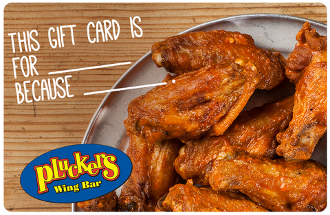 Pluckers Gift Card