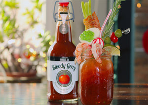 Holiday Cheers with a Festive Bloody Gerry!