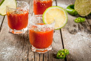 Love pickleback chasers? Try a Bloody Mary Chaser!