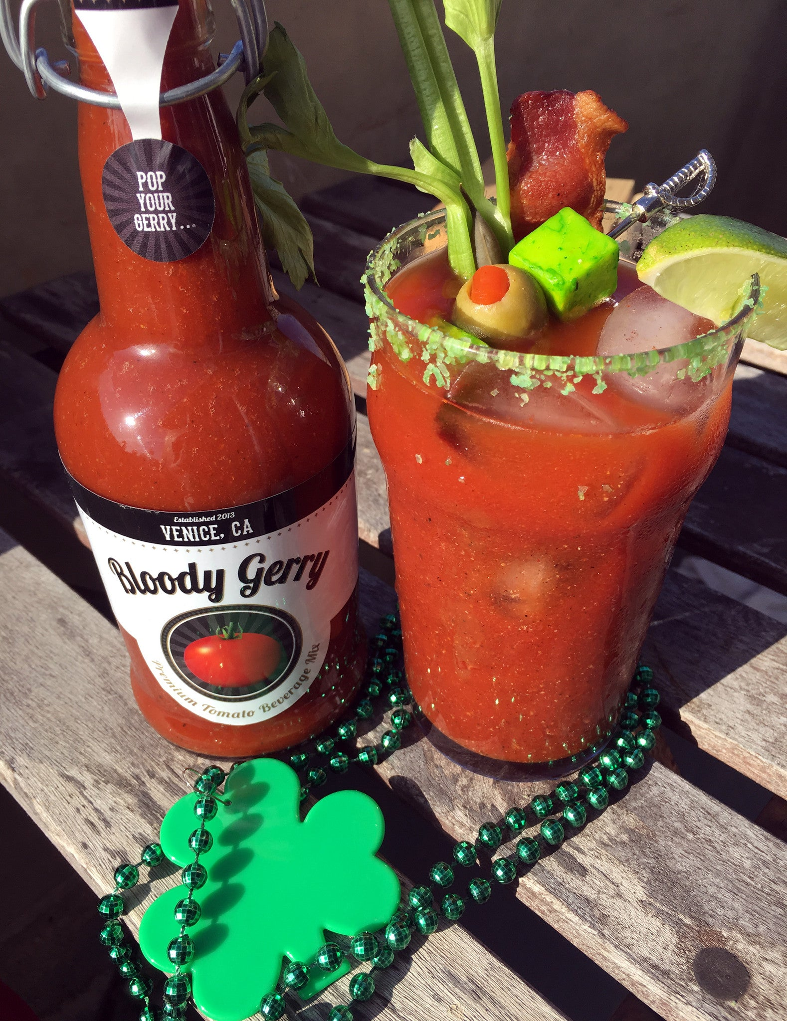 St. Patrick's Day Bloody Mary