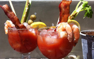 The Ultimate 5 Topping Bloody Gerry Cocktail
