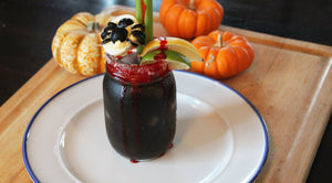 haunted poison black and bloody mary bloody gerry halloween