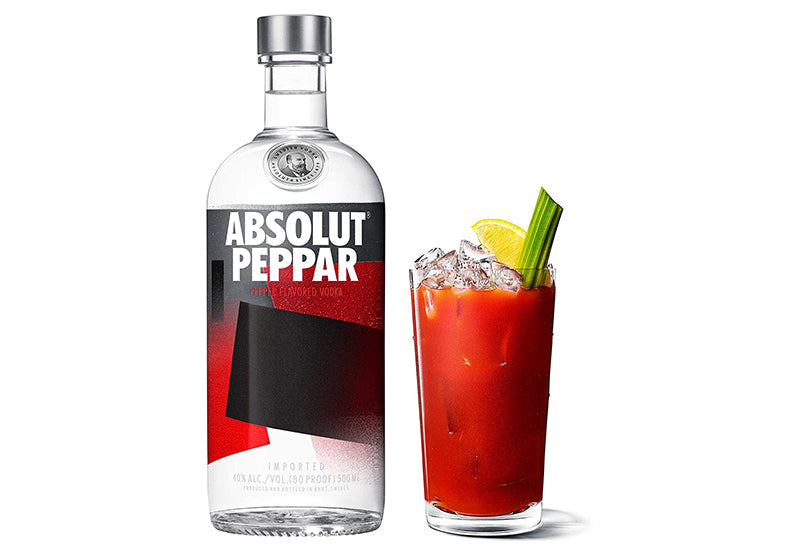 absolut peppar pepper vodka for bloody marys bloody gerry best bloody mary mix