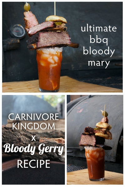 best bloody mary mix bloody gerry bbq bloody mary with carnivore kingdom