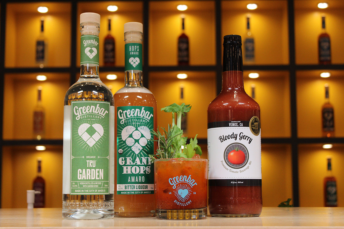 bloody mary bloody gerry greenbar vodka downtown los angeles spirits distillery