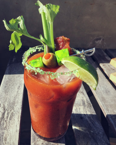 St. Patrick's Day Bloody Mary photo