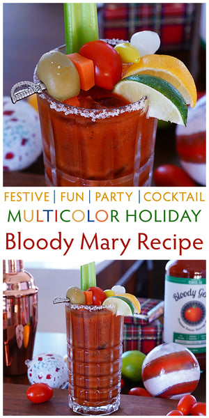 holiday cocktails bloody mary recipe christmas festive drinks