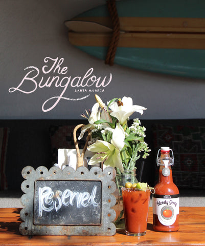 bungalow santa monica brunch beach pier fairmont hotel bloody mary bloody gerry