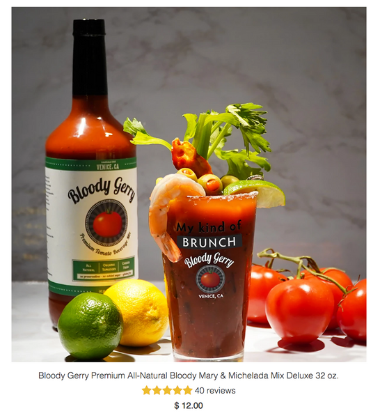 best bloody mary mix bloody gerry