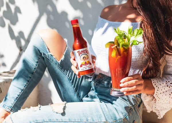 tapatio hot sauce spicy bloody mary michelada