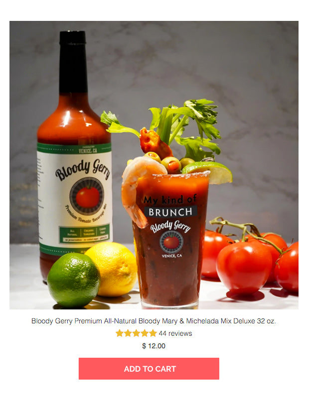 best bloody mary mix bloody gerry party pack