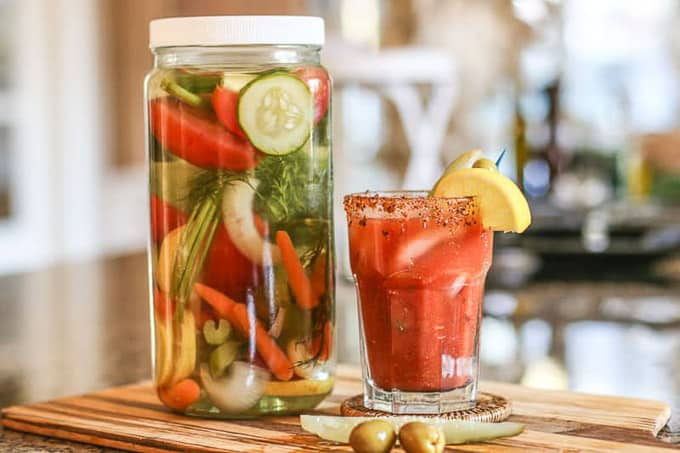 bloody mary infuse vodka herbal bloody mary infused