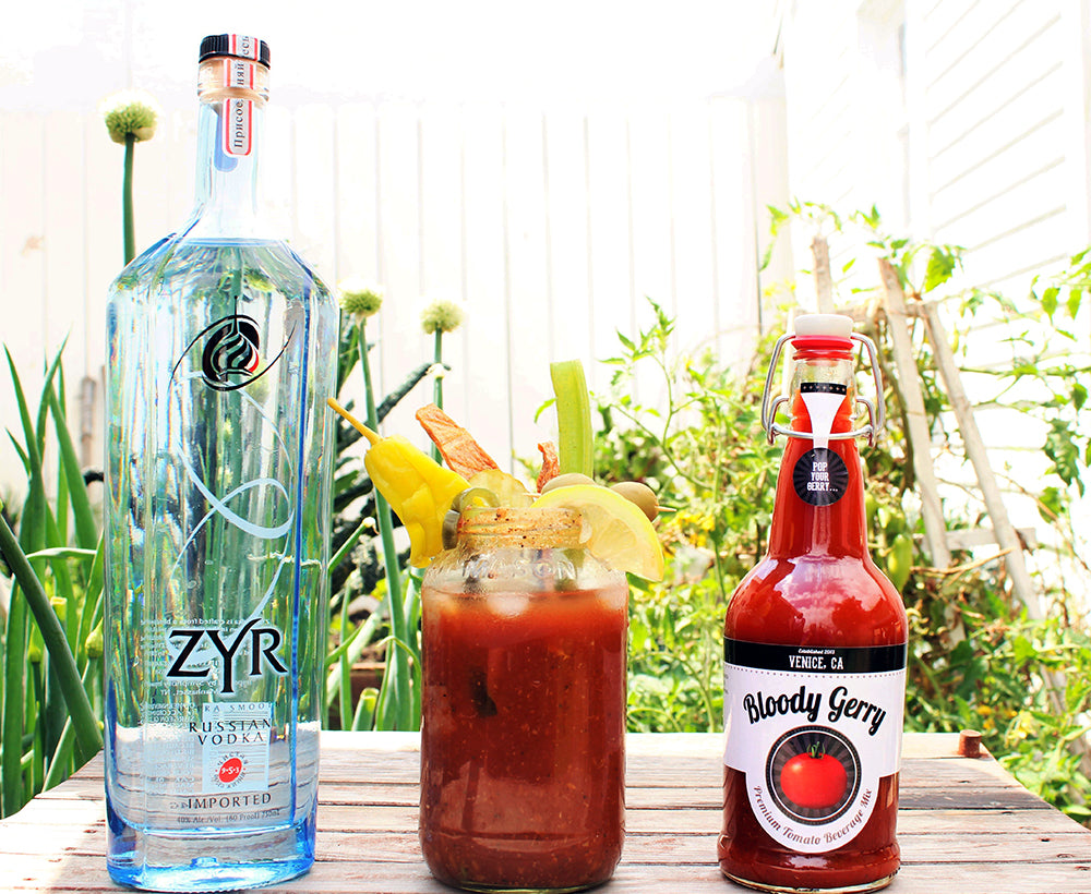 zyr russian vodka award winning 100 rating best bloody mary bloody gerry