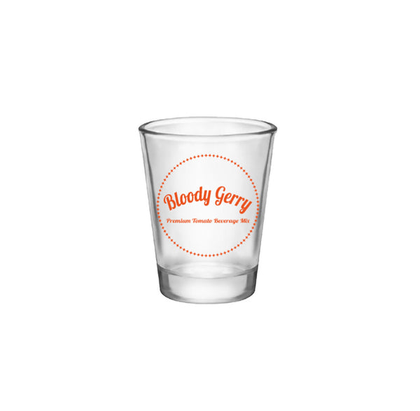 Bloody Gerry Brand Shot Glass