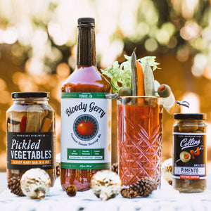 Bloody Mary Pickled Veggie Gift Set