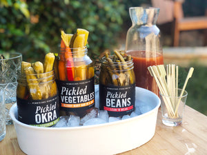 Bloody Mary Vegetables, Pickled Vegetables by Pernicious Pickling Co.