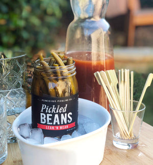 Pernicious Pickling Company Lean n' Mean Spicy Green Beans