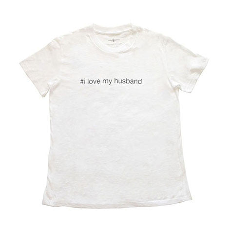 "Mila Woman - ""#i love my husband"" Shirt"