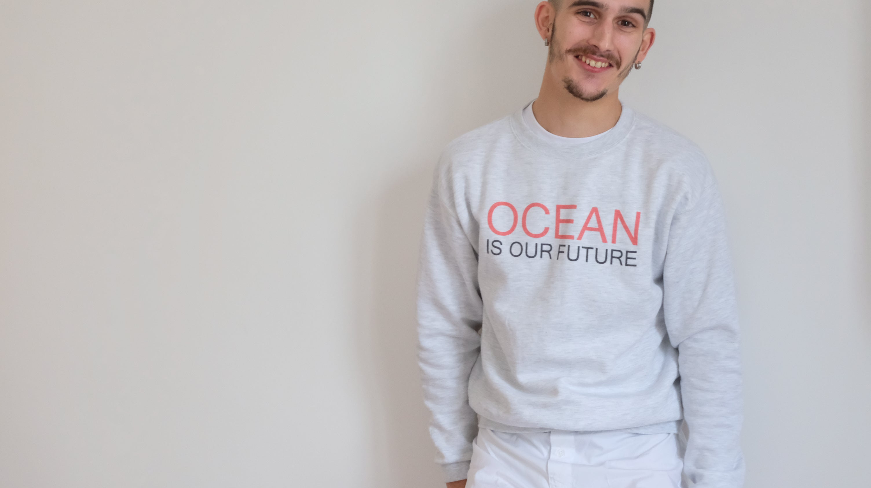 Le Sweat OCEAN IS OUR FUTURE