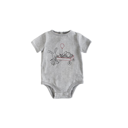 Short Sleeve Grey Wagon Body