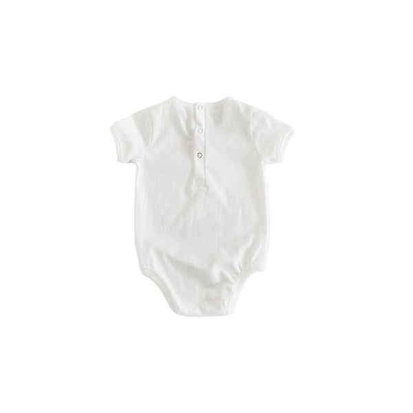 Short Sleeve White Plane Body