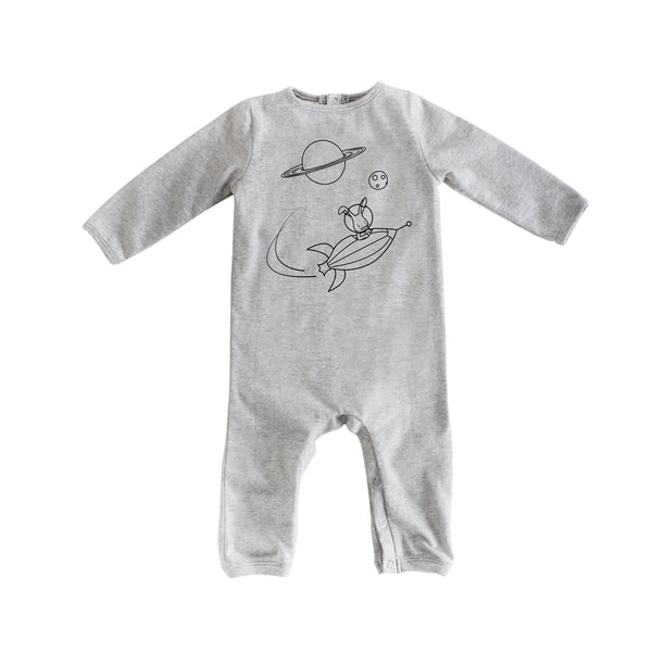 Space Romper (Grey)