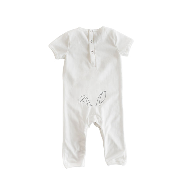 Wagon Romper (White or Grey)