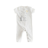 Short Sleeve White Stars Romp