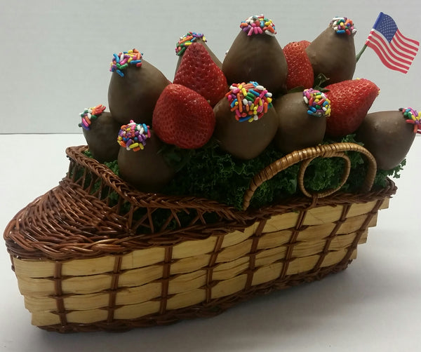 Chocolate Berry Boat