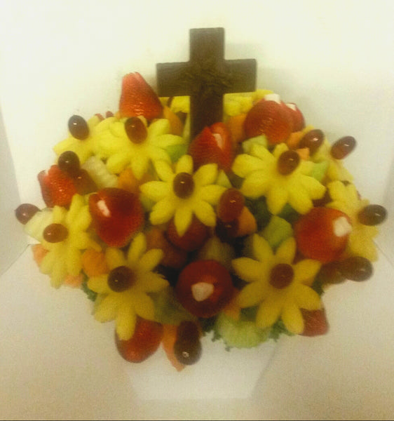Easter Fruit Flower Arrangements
