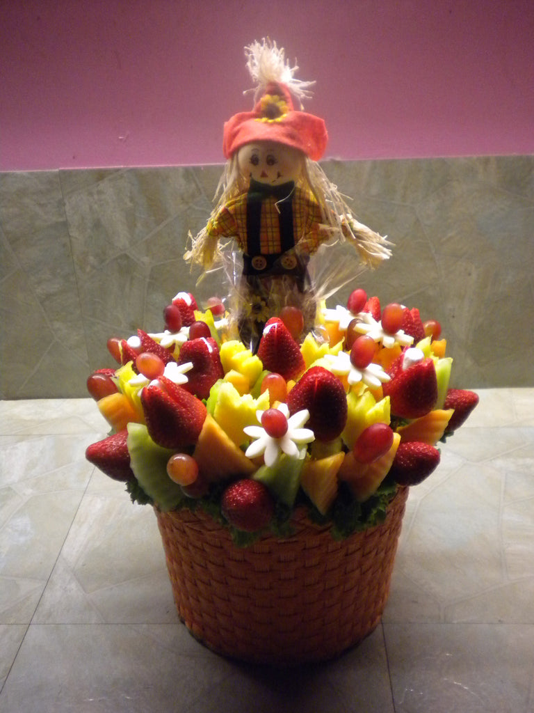 Autumn Greetings Sweet Fruit Arrangement