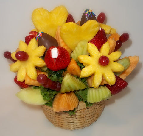 Love You Easy Pickins Fruit Arrangement