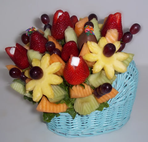 Fruit Flowers Baby Love