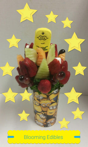 Fruit Arrangements One In A Minion Blooming Edibles