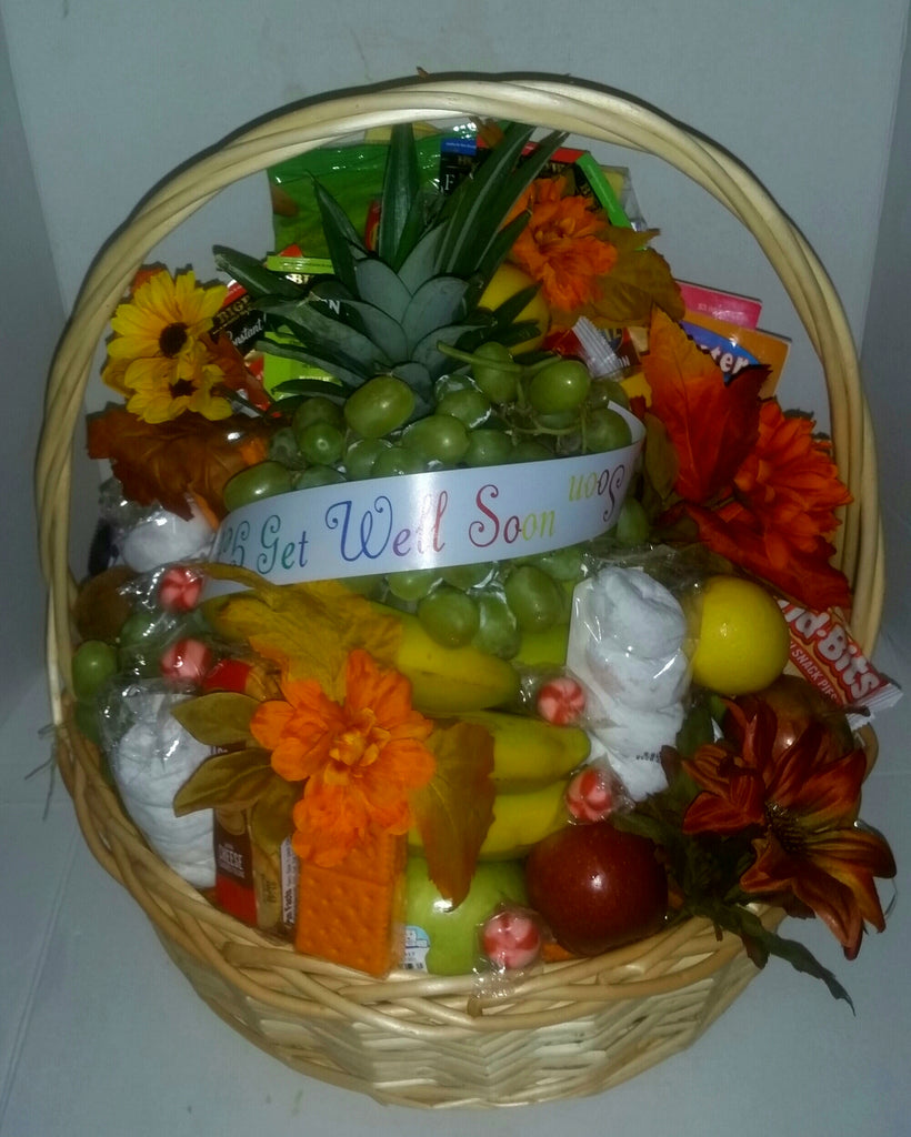 Whole Fruit Basket Get Well