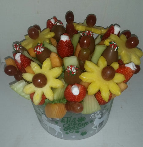 Holiday Custom Easy Pickins Fruit Arrangement