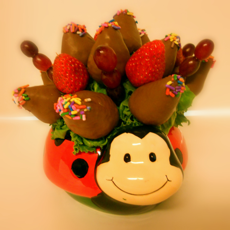 Lady Bug Buds Chocolate Strawberries