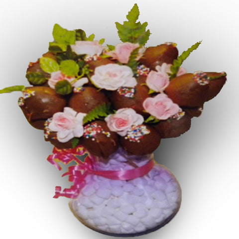 Large VIP Bouquet Chocolate Covered Strawberry Arrangement