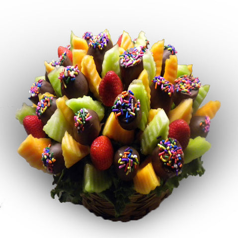 Small La Chocolateire' Milk Chocolate Covered Arrangement