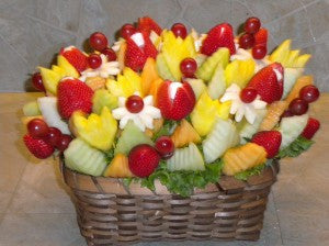 Small Tutti Fruitti With Cheese Fruit Arrangement
