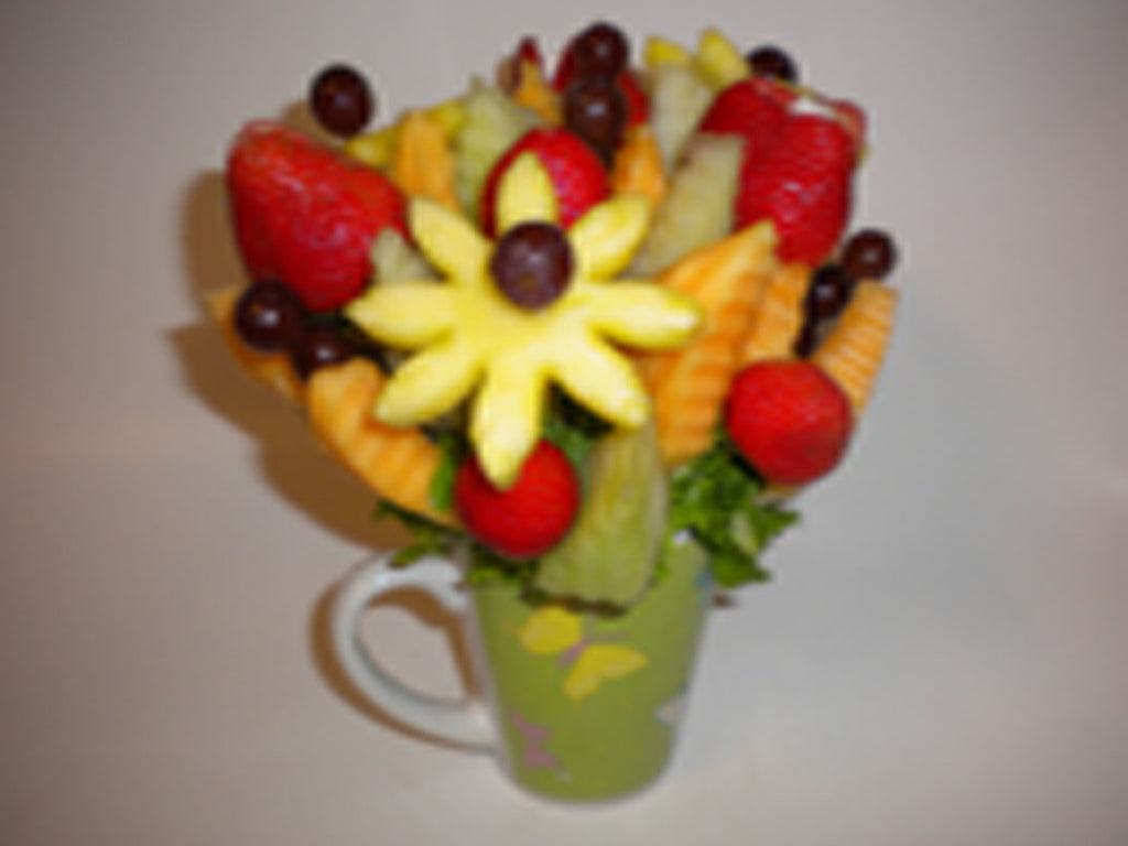 Appreciation Fruit Flower Mug