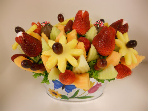 It's A Spring Fling Fruit Flowers