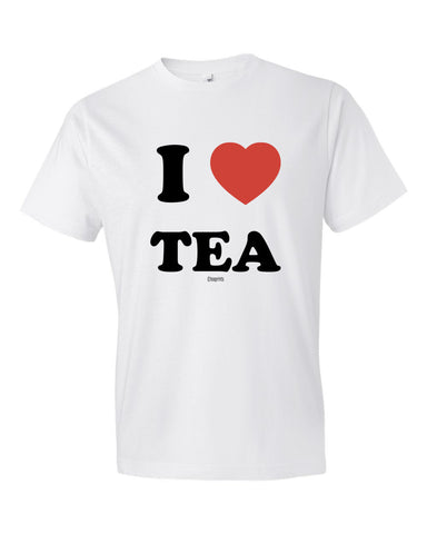 I Heart Tea T-Shirt White