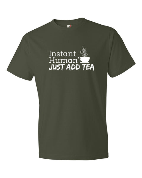 Instant Human City Green T-Shirt