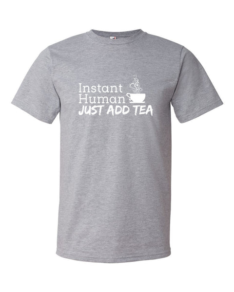Instant Human Heather Grey T-Shirt