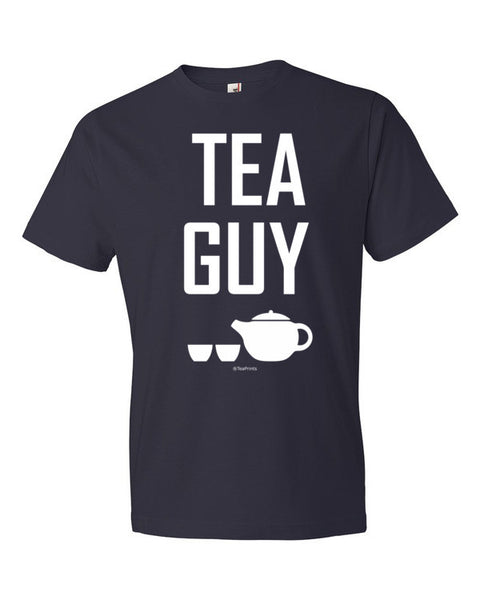 Tea Guy Navy T-Shirt - Unisex